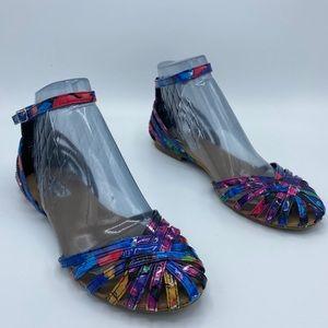 Steve Madden Tane Colorful Sandals 8.5 - 2M